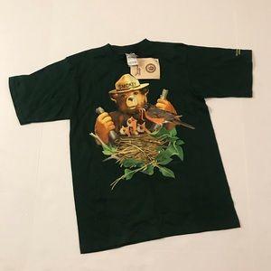 Smokey Bear Rio Grande San Juan Forest Kids Shirt